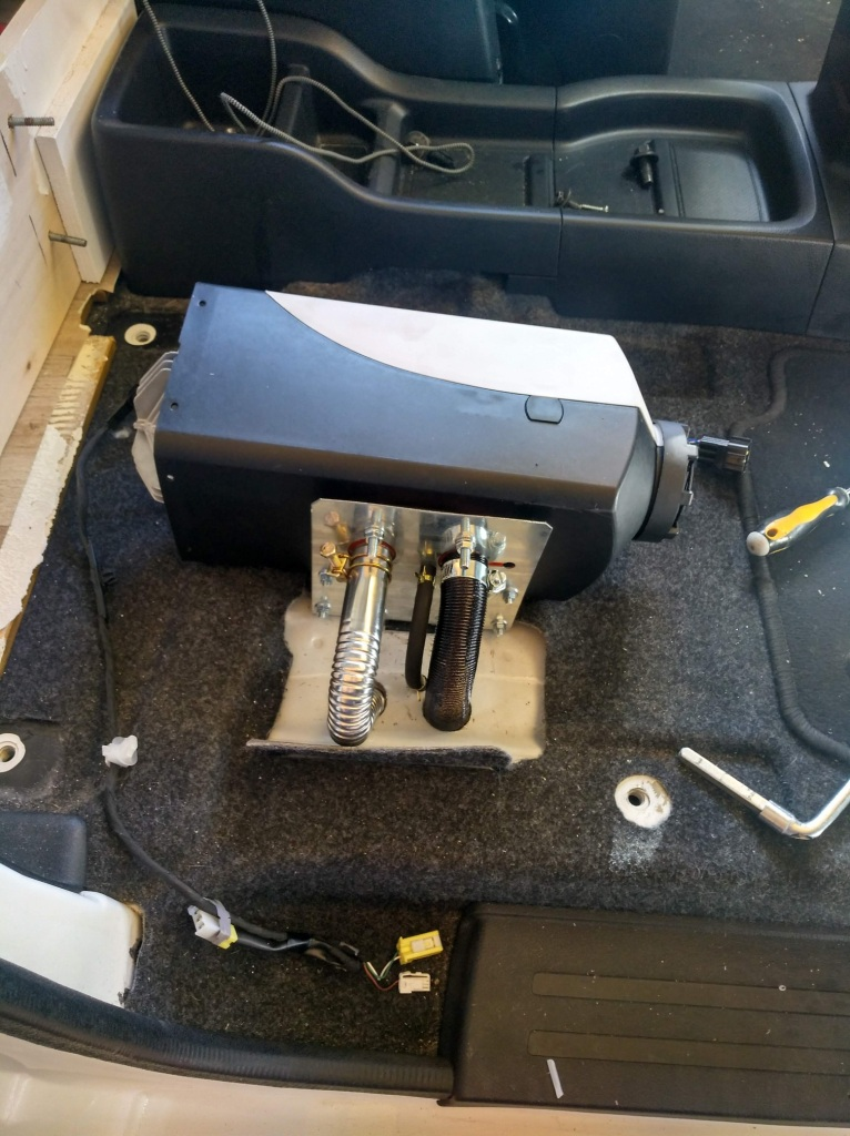 Calefacción estacionaria camper