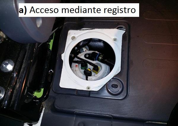 Registro depósito de combustible