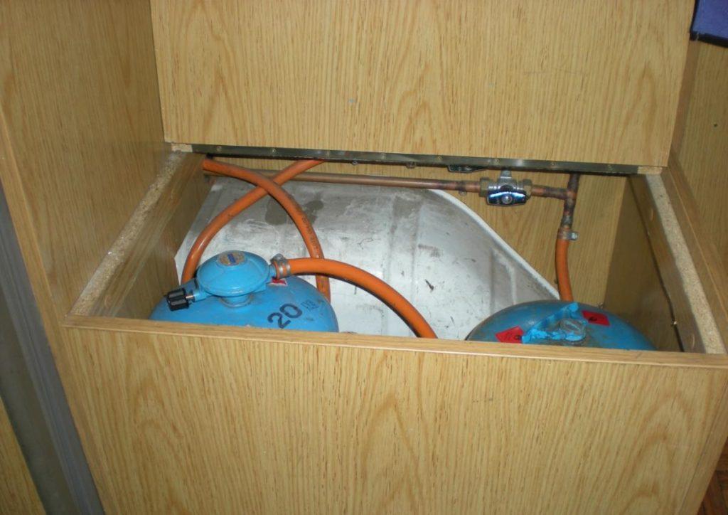 Instalación de gas para furgoneta camper