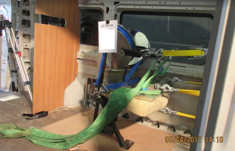 Ensayo cinturón de seguridad