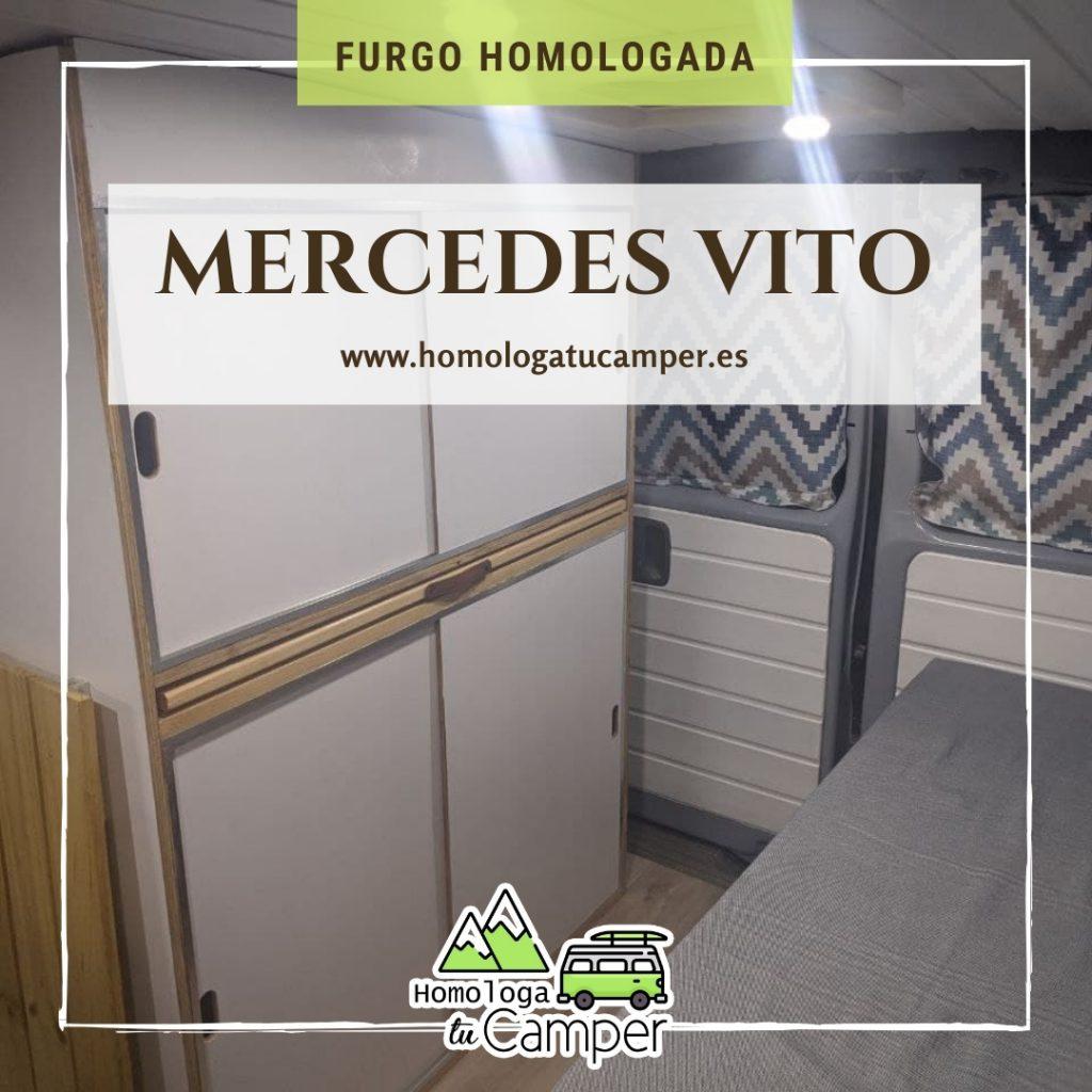 Mercedes Vito homologada