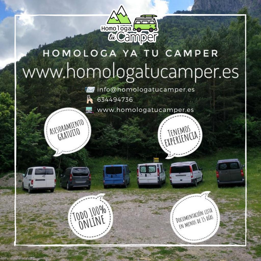 Homologa tu camper