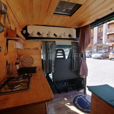 Mampara separadora furgoneta camper