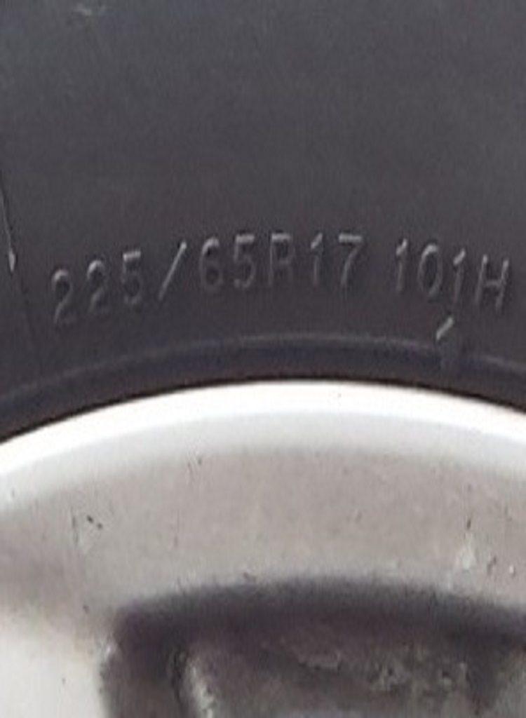 Medidas de las ruedas