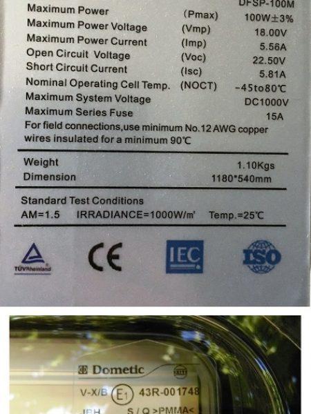 Marcado CE y contraseña de homologación